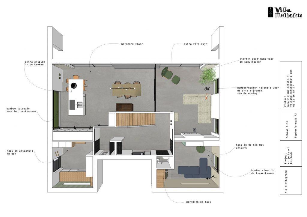 interieurontwerp nieuwbouw woning