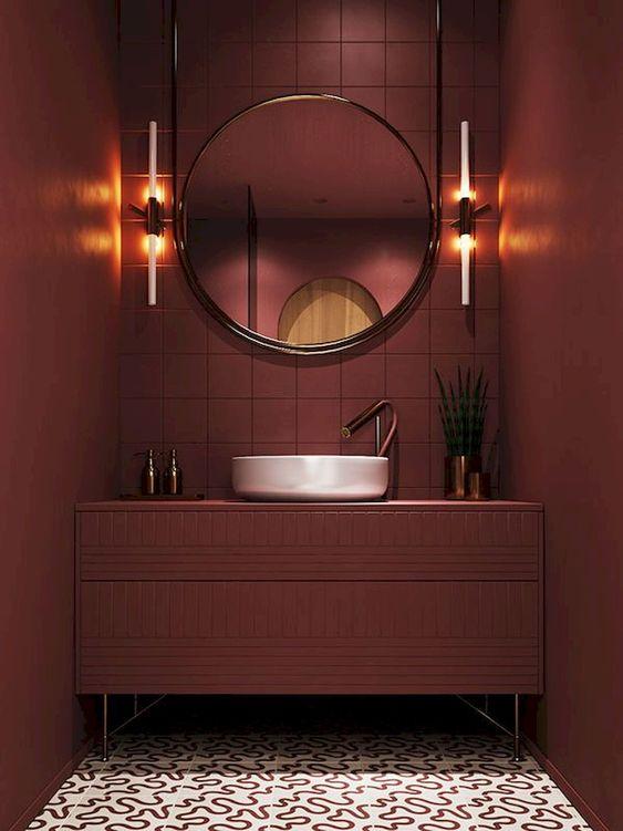 badkamer in 1 kleur