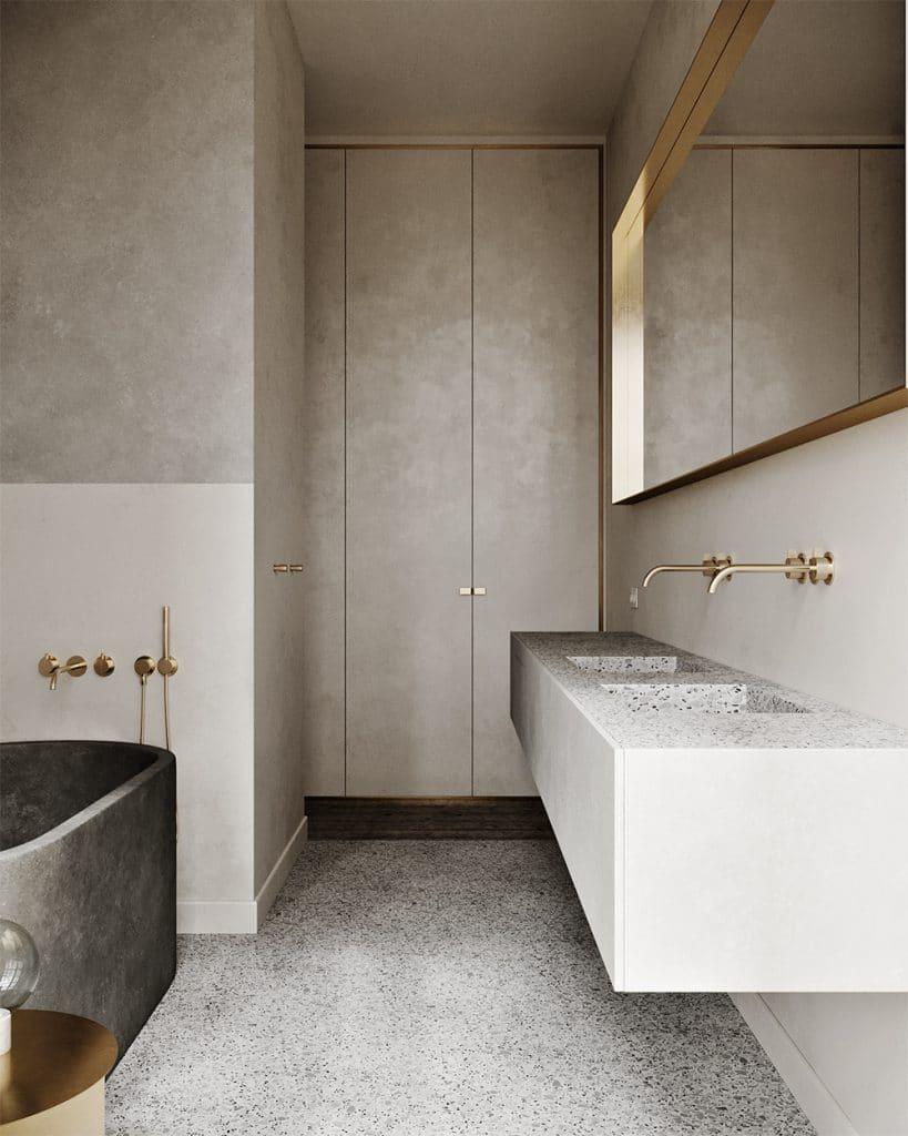 materialen badkamer